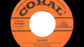 1957 HITS ARCHIVE: Tammy - Debbie Reynolds (a #1 record)