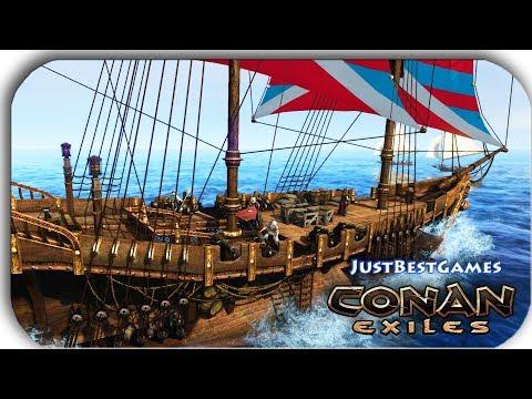 Conan Exiles - ВЫРЕЗАЛИ ВЕСЬ КОРАБЫЛЬ #12