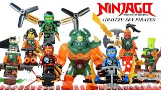 Ninjago Airjitzu Sky Pirate Flyers Micro Build Unofficial LEGO Knockoff Minifigures Set 35