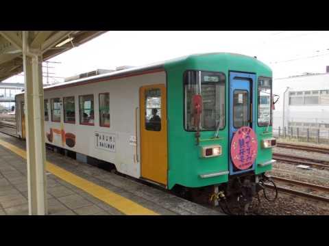 樽見鉄道ハイモ295-310形 大垣駅発車 Tarumi Railway HAIMO295 series DMU