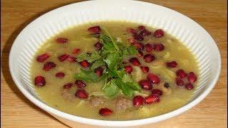 Домашняя лапша рецепт. Суп с фрикадельками и с домашней лапшой .Хемрашы