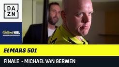 Elmars 501 - Michael van Gerwen | Finale | DAZN | Darts WM 2020