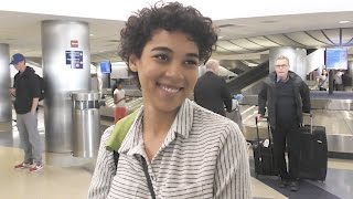 Alexandra Shipp Gives Thoughts On Gay Power Ranger   Splash News TV