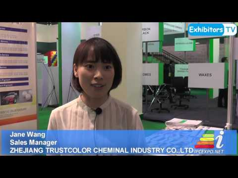 Zhejiang Trustcolor China exploring Pakistan market at the 2nd Paints and Coating Expo 2016