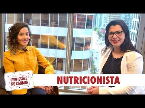 NUTRIÇÃO NO CANADÁ