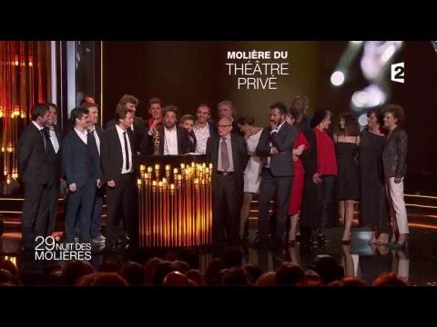 Molière du Théâtre Privé: Edmond - Molières 2017