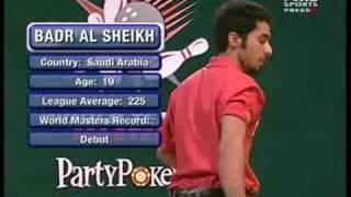 2007 World Tenpin Masters Game 4 Al Sheikh vs Cundy Part 1