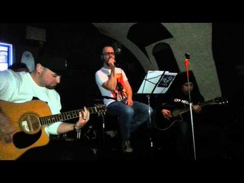PAINFUL FLOWER - Time to go (acoustic) - Olomouc, Rockstar Cafe Bar (23.01.2014)