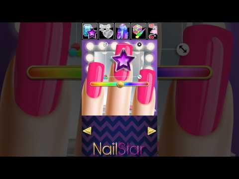 ⭐⭐⭐⭐⭐ NAIL STAR™ & NAIL SALON™ - Best Dress Up, Makeup and Nail Manicure Games and Apps
