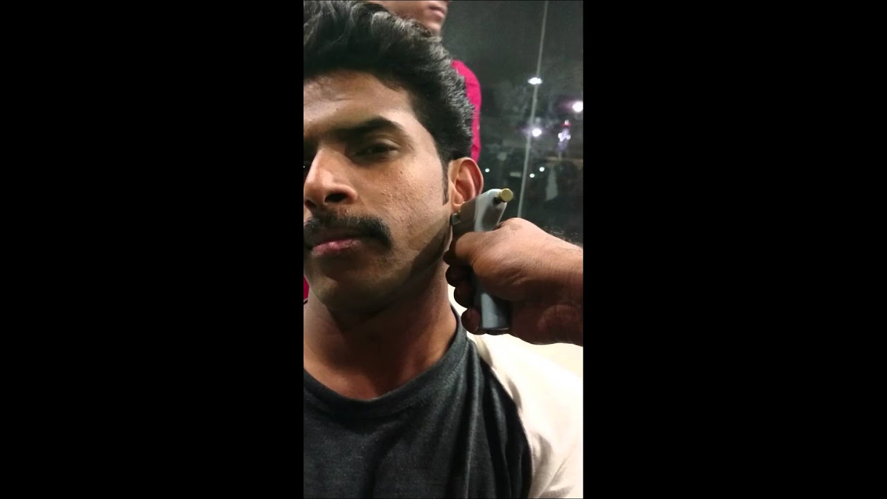 Indian Scared Guy Piercing Ears With Gunshot YouTube