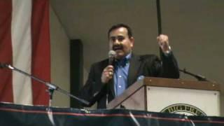Piedad Ayala at the Farmers Relief Rally Fresno CA Nov 22, 2009
