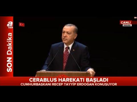 """Recep Tayyip Erdoğan: """"Başaramayacaksınız, Bayrağımızı indiremeyeceksiniz!"""""""