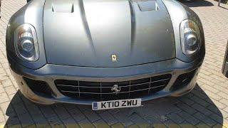 Ferrari y Aston Martin en Salamanca