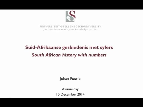 South African history with numbers