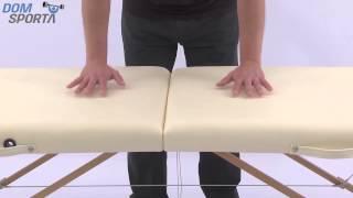 Видео о  Массажный стол Art Of Choice Mia Blue