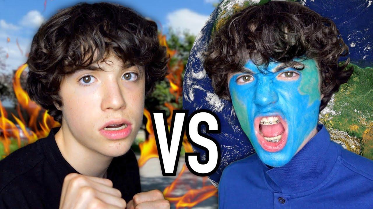 TERRE VS HUMAIN (rap battle)