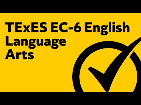 Free TExES EC-6 English Language Arts (801) Study Guide