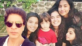 Shahrukh Khan's Son AbRam POSES With Gang Of HOT GIRLS