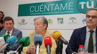 María Galiana presenta la campaña 'Cuéntame tú'