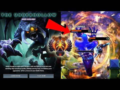 NEW CUSTOM GAME ADDED! The Underhollow FIRST GAMEPLAY by IMMORTAL PLAYERS - Dota 2 Battle Pass Event thumbnail