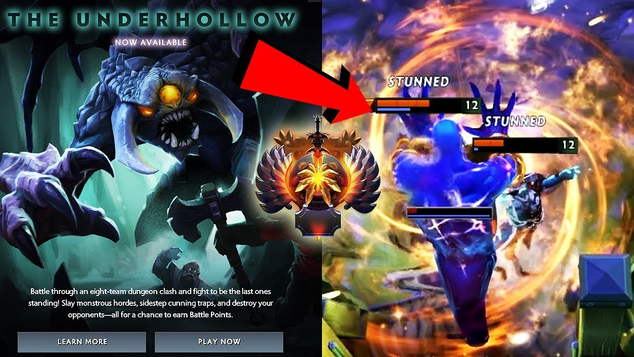 Dota 2 Immortal Items And Player Cards Released: NEW CUSTOM GAME ADDED! The Underhollow FIRST GAMEPLAY By