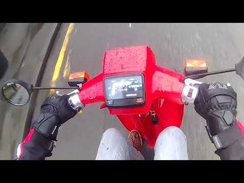 Test Ride On Honda SH50 City Express