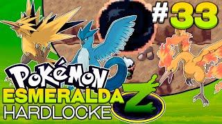 Pokémon Esmeralda Z #33 - ARTICUNO, ZAPDOS, MOLTRES