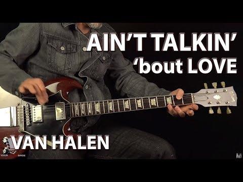 Ain't Talkin' 'bout Love Van Halen - Guitar Lesson