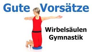 30 min. Wirbelsäulen - Gymnastik mit dem Ballkissen