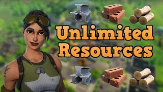 UNLIMITED RESOURCES - FORTNITE BATTLE ROYAL