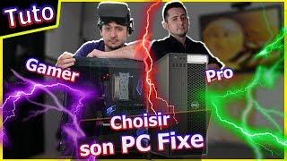 PC fixe Gaming Pro Bureautique : comment choisir ses pièces