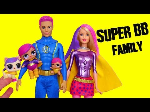 SWTAD LOL Families ! The Super BB Family Rescues Jack Jack | Toys And Dolls Pretend Play For Kids