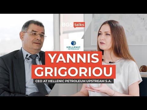 Hellenic Petroleum: Yannis Grigoriou - CEO of Upstream Division | BGS Talks #3