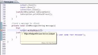 Intermediate Java Tutorial - 45 - How to Send Messages