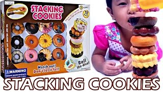 Mainan Anak Stacking Cookies Challenge 💖 Donut Mountain 💖 Let's Play Jessica Jenica