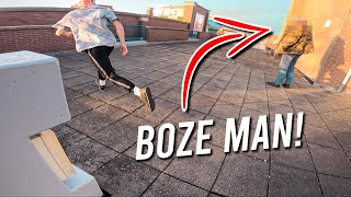 FREERUNNERS VS BOZE MAN! *POV*