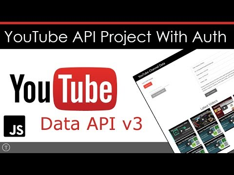 YouTube API Project With Authentication