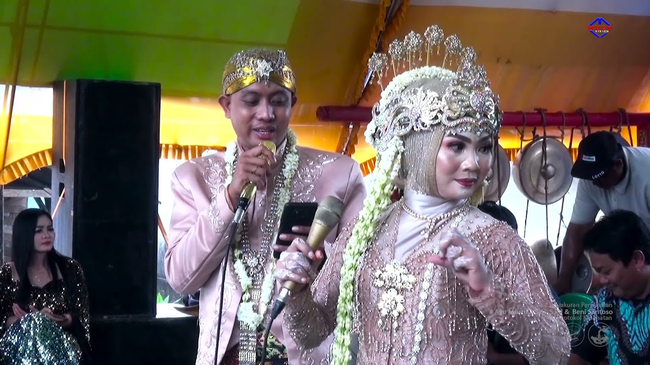 Satu Hati Sampai mati Viral Pasangan Pengantin Menyumbang Lagu