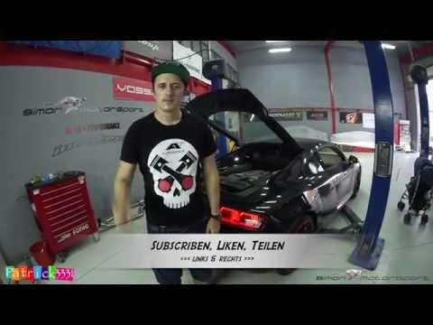 Audi R8 V8 - Alphamale Klappenauspuff - Teil 1 - Simon MotorSport - Folge 84