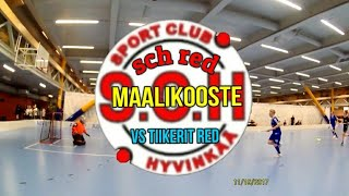 SCH Red vs Tiikerit Red Maalikooste