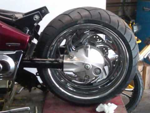 Honda VTX 1300 ,240 Kit with wheels  Shawcycles 810712