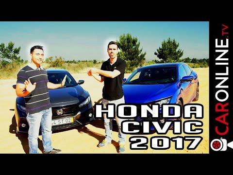 Honda CIVIC 2017  1.0 e 1.5 TURBO em DETALHE [Review Portugal]