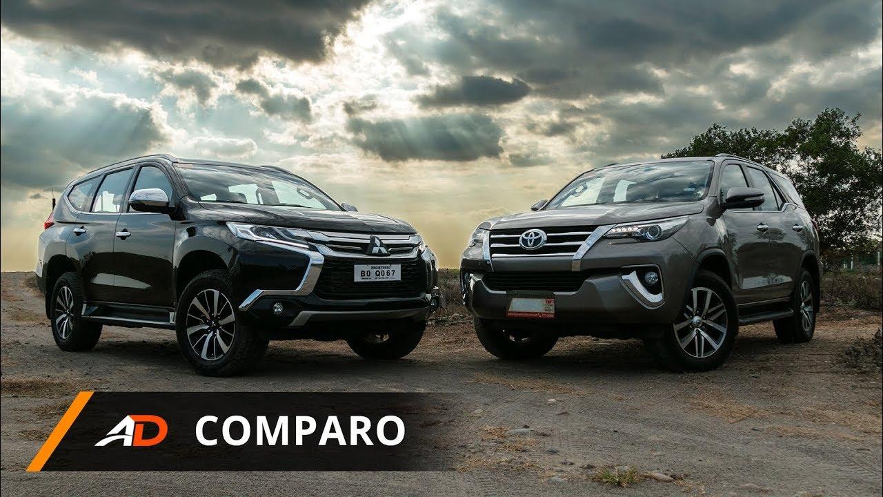 2018 Mitsubishi Montero Sport Gt 4x4 Vs 2018 Toyota