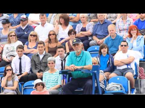 Liverpool International Tennis Tournament - General Film (Cut 1)