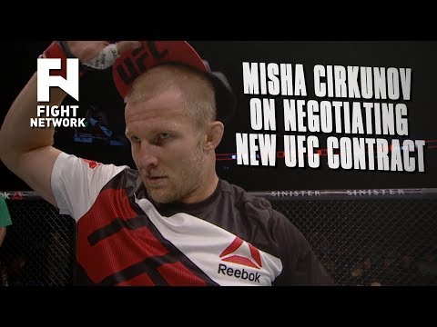 Misha Cirkunov on UFC Contract Negotiations: I Had Offers from Russia For 'High Levels of Money'