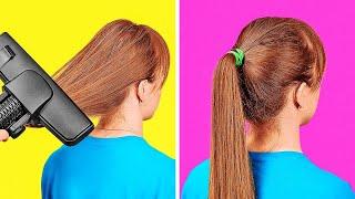 خدع وتسريحات شعر رائعة! || نصائح وحيل لإطلالات ساحرة في كل المناسبات