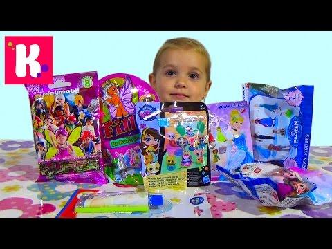 Видео, Сюрпризы  Обзор игрушек