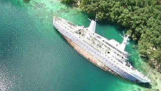 9 Vapoare si Avioane Ciudate Abandonate