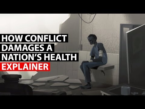 Video image: How war weakens national immune systems