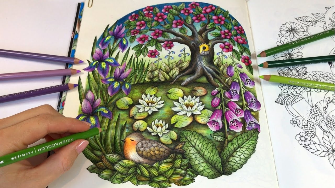 Gardens By Maria: Part 2: Blomstermandala Coloring Book By
